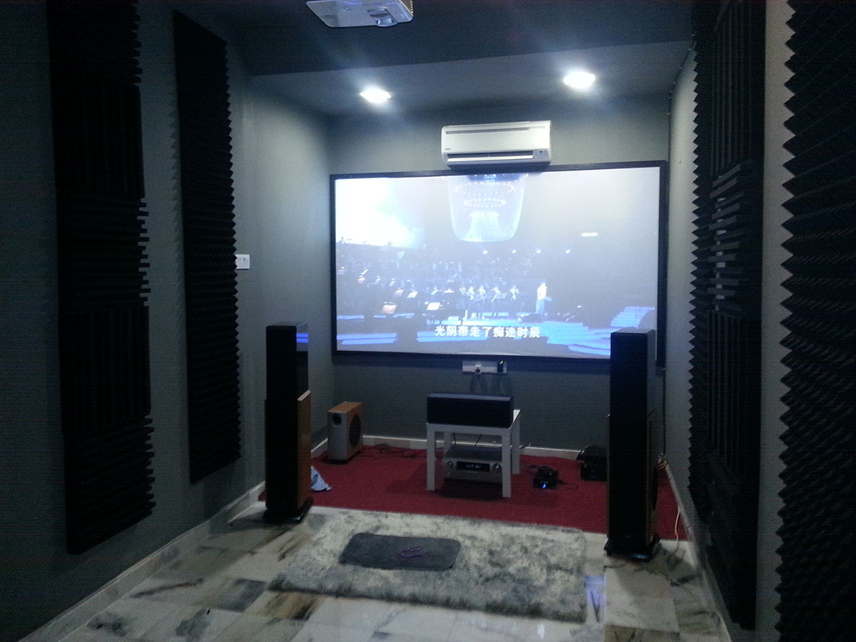 Home Theatre Room Acoustic Tuning